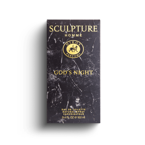 Nikos Sculpture God's Night - Nikos